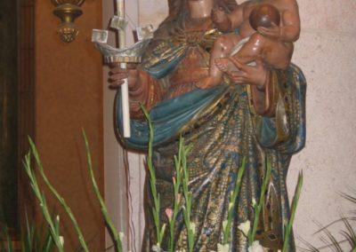 Copia della statua della Madonna di Bonaria conservata nella Basilica