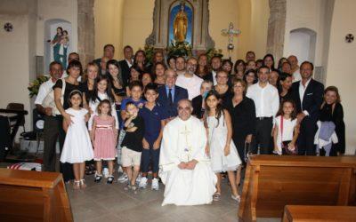 50° anniversario di matrimonio dei genitori di Fra Efisio 22/9/2012