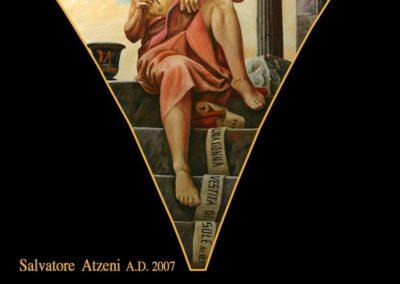 Nuovi quadri della Basilica del maestro Salvatore Atzeni