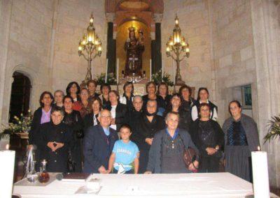 Pelligrinaggio gruppo da Oniferi 29/09/2007