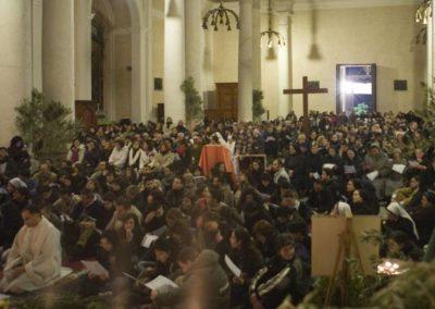 Pellegrinaggio gruppo da Pirri 31/01/2008