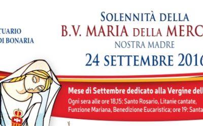 Festa della Mercede 24 settembre 2016