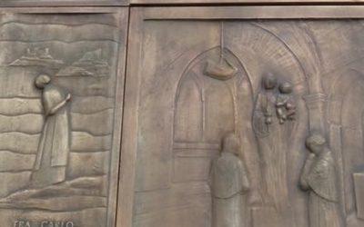 Inaugurato il nuovo portone del Santuario